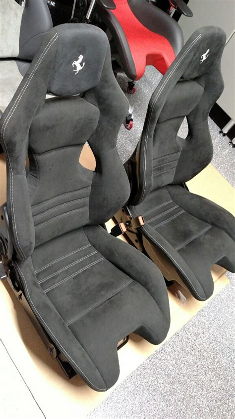 ferrari  carbon racing seats   speedonline