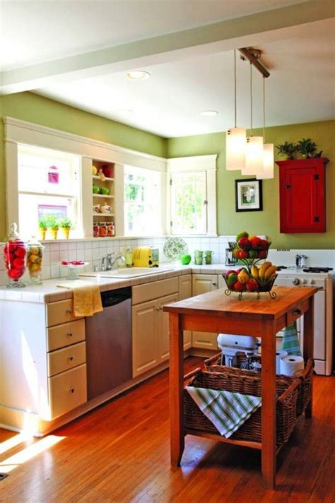 How To Paint A Small Kitchen In A Light Color Interior