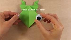 Geldfrosch Basteln Anleitung : frosch falten origami frosch basteln faltanleitung ~ Lizthompson.info Haus und Dekorationen