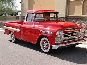 1959 Chevrolet Apache Pickup - Side Profile