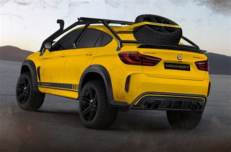 Modified Bmw X6m by Manhart Mhx6 Dirt 178 Is Bmw X6m S Offroad Cousin