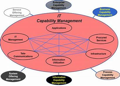 Capability Management Diagram Business Enterprise Concept Figure