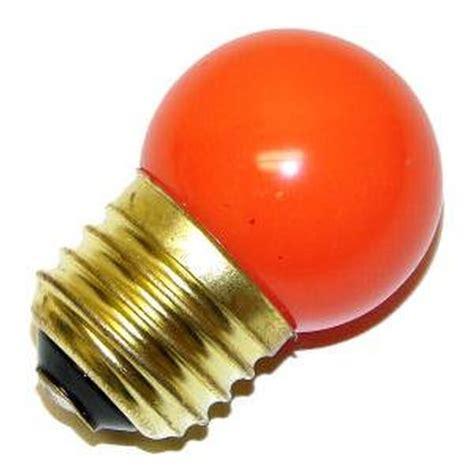 satco 03610 7 1 2s co orange s3610 standard base