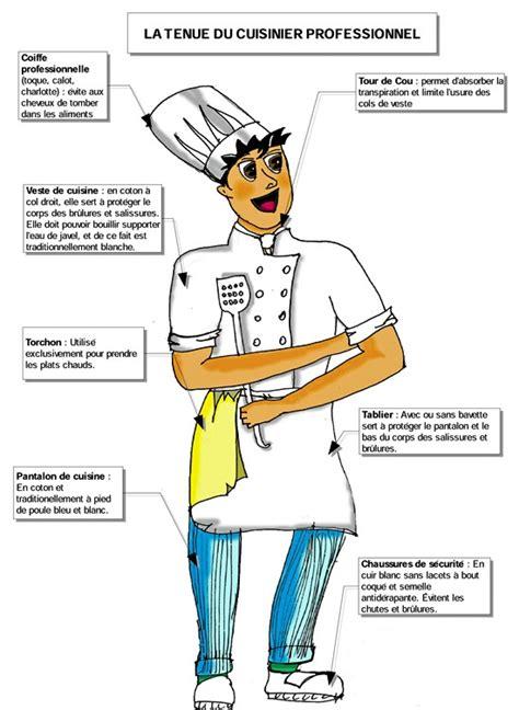 metier autour de la cuisine autour de la gastronomie la tenue du cuisinier fiche du