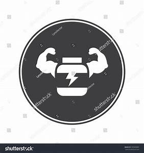Sport Nutrition Icon Stock Vector 330940883 - Shutterstock