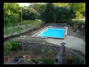 Pool Mit überdachung : swimming pool bau mit berdachung pool berdachung youtube ~ Michelbontemps.com Haus und Dekorationen