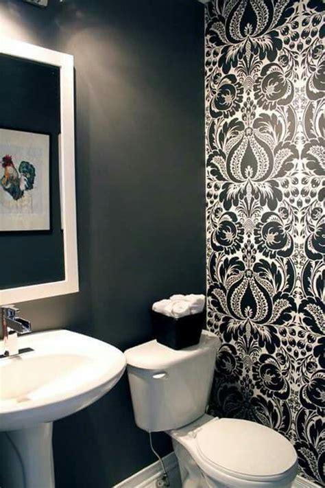 papel tapiz decoracion de banos pequenos diseno banos