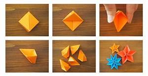 Fleur En Origami Facile : diy origami fleur facile une fleur en origami facile ~ Farleysfitness.com Idées de Décoration
