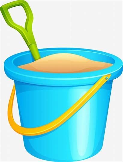 Bucket Sand Clipart Cartoon Barrel Webstockreview