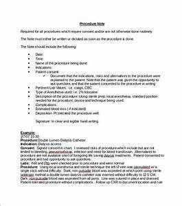 9 medical note templates free sample example format for Medical death note template