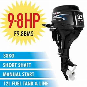 9 8hp Parsun Outboard Motor Short Shaft 4