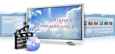 funeral memorial video funeral tribute video software