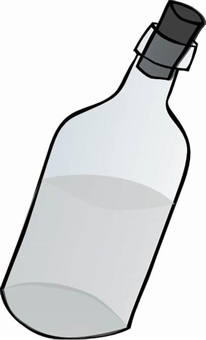 Bottle Clip Glass Jug Clipart Cork Vector