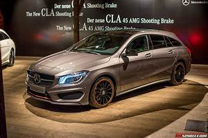 Mercedes Cla Break : live 2015 mercedes benz cla shooting brake and cla45 amg ~ Melissatoandfro.com Idées de Décoration