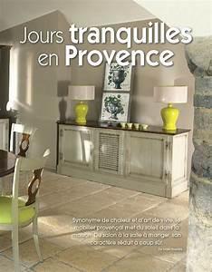 Magazine Décoration Intérieur : decoration interieur maison provencale ~ Teatrodelosmanantiales.com Idées de Décoration