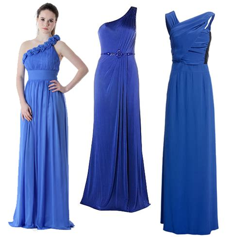 blue bridesmaid dresses navy blue and electric blue bridesmaid dresses onefabday