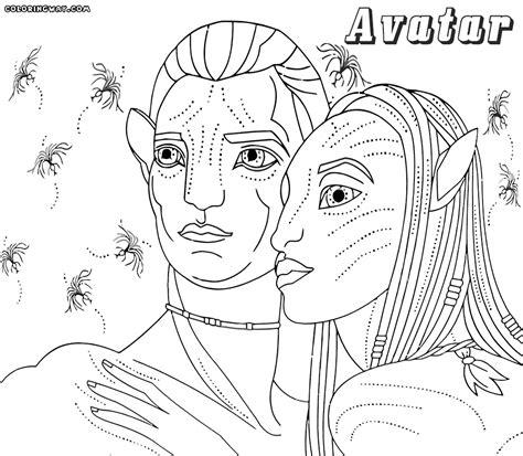 Avatar Coloring Pages by Avatar Coloring Pages Kidsuki