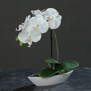 Kunstblumen Orchideen Topf : orchideen im topf kunstblumen im deko mich online shop ~ Whattoseeinmadrid.com Haus und Dekorationen