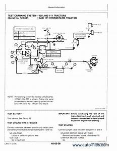 Wiring Diagram For John Deere Riding Mower
