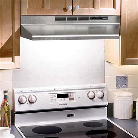 kitchen exhaust fan under cabinet 30 quot non ducted under cabinet range hood kitchen