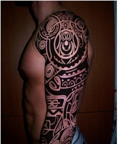 tatouage tribal bras tatouage bras tribal noir id 233 es de tatouages et piercings