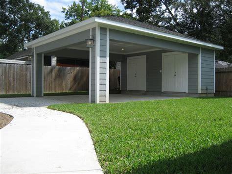 Add Garage Door To Carport by Remodel Houston Garage Carport Addition Recraft Homes