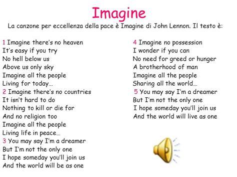 Testo Imagine Traduzione by La Pace La Pace 232 Una Condizione Sociale Relazionale