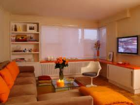 White And Orange Living Room by Orange Design Ideas Color Palette And Schemes For Rooms