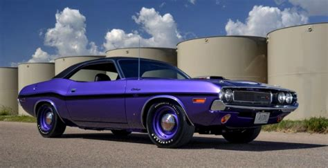 One Of One Plum Crazy 1970 Dodge Hemi Challenger  Hot Cars