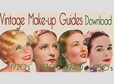 Vintage Hollywood Makeup Tutorial – 1932 Paperblog