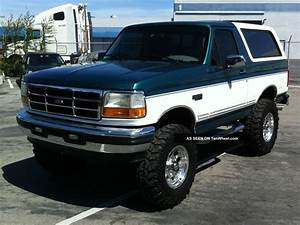 Ford Bronco 5.0 1996 | Auto images and Specification