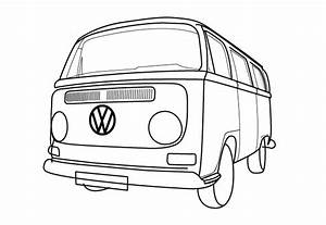 Van Coloring Pages - GetColoringPages.com