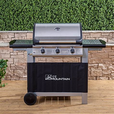 cast iron grill burners everest 3 burner gas barbecue with free propane 5131