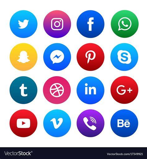 Free Social Media Icons Social Media Icons Free Design Templates