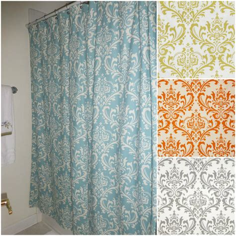 custom made shower curtains fabric shower curtain