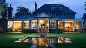 Home Design: Beautiful Garden Design In Front Of Amazing