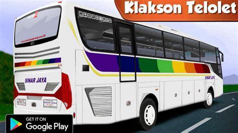 sepuluh simulator bus indonesia terbaik  android game buatan anak bangsa