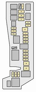 Toyota Matrix First Generation Mk1  E130  2005 - 2006   U2013 Fuse Box Diagram