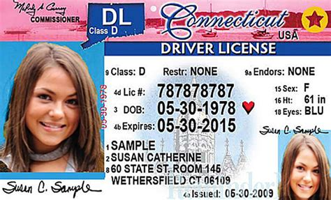 Connecticut New Driver's License Application And Renewal 2019