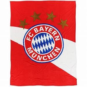 Fc Bayern Bettwäsche : fc bayern m nchen decke logo rot weiss fleecedecke 150 x ~ Watch28wear.com Haus und Dekorationen