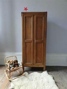 Armoire Parisienne Vintage : armoire parisienne annees 40 vintage moi ~ Teatrodelosmanantiales.com Idées de Décoration