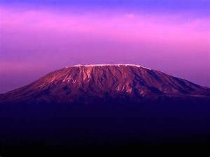 Mount Kilimanjaro Sunset Wallpaper – Travel HD Wallpapers