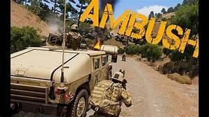 Arma 3 Humvee Convoy Ambush