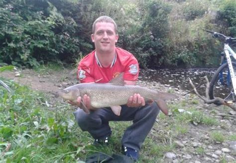 fish caught  river goyt stockport greater manchester