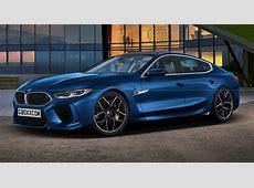 BMW M8 Gran Coupe Puts On A ProductionReady Blue Suit