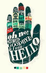 you say goodbye i say hello Quotes