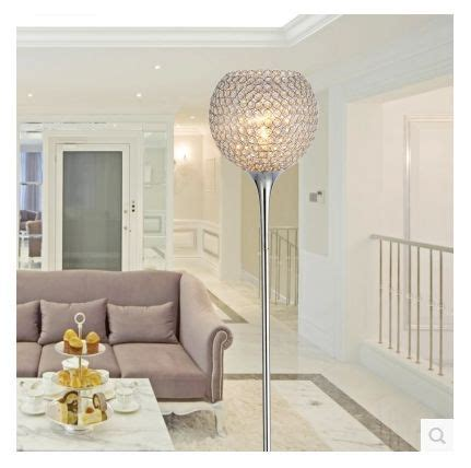 living room lighting floor ls simple modern k9 crystal floor ls silver golden color