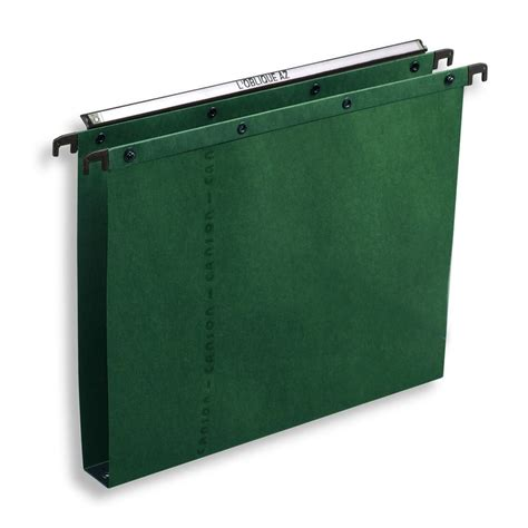 hanging file box elba foolscap vertical green suspension files 30