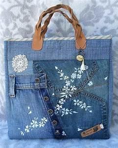 Comment Faire Un Sac : comment faire un sac en jean patrons gratuits tutos et id es de d co crochet tricot and ~ Melissatoandfro.com Idées de Décoration