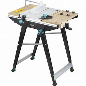 Table Multifonction : etabli pliant wolfcraft mastercut 1500 78 x 57 cm leroy ~ Mglfilm.com Idées de Décoration